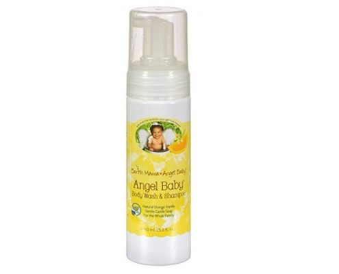 Earth Mama-Angel Baby Body Wash & Shampoo Pure Castile Vanilla