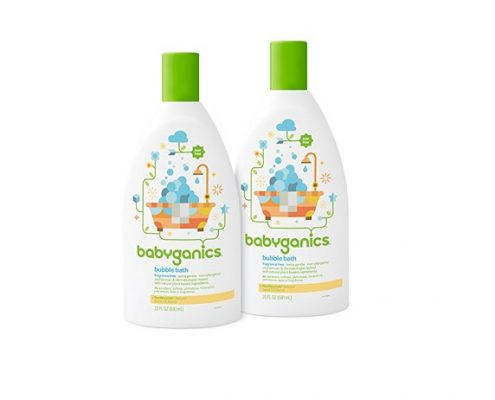 Phthalate free baby bubble bath