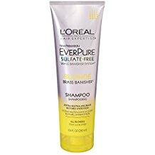 L'oreal sulfate free shampoo